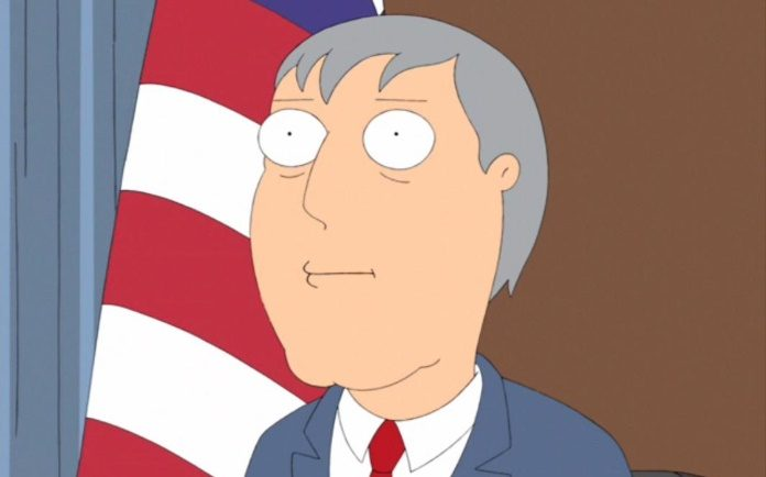 Adam West em Family Guy