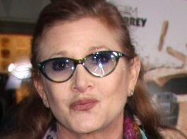 Carrie Fisher em 2013
