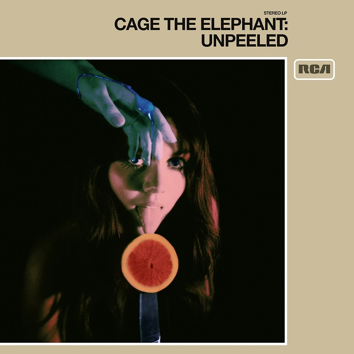 Capa de Unpeeled, novo disco do Cage the Elephant
