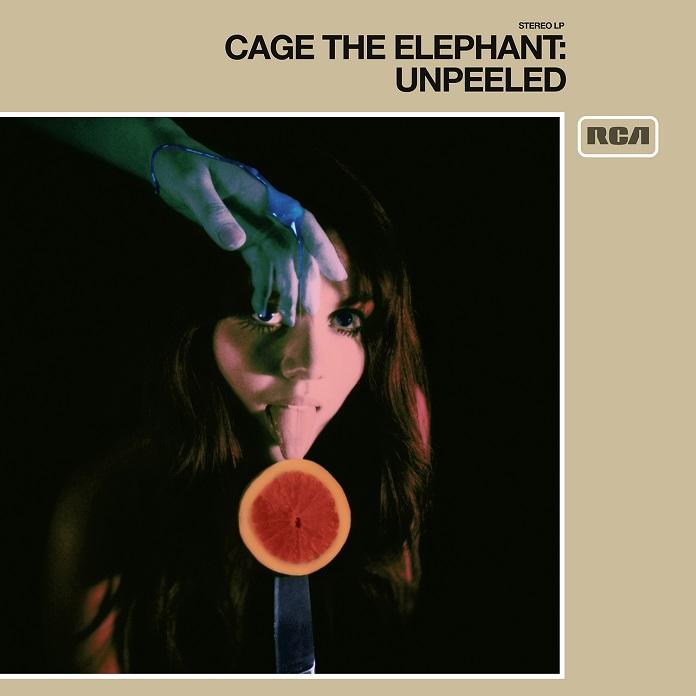 Capa de Unpeeled, novo disco do Cage the Elephant