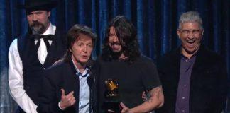 Dave Grohl, Paul McCartney, Krist Novoselic, Pat Smear