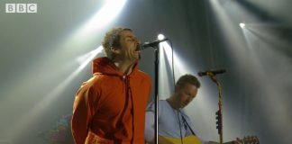 Liam Gallagher e Coldplay em Manchester