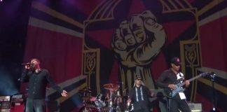 Prophets Of Rage com Serj Tankian no Rock Am Ring
