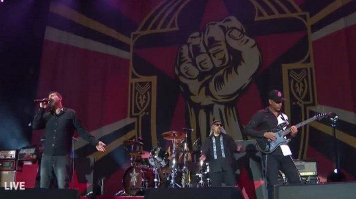 Prophets Of Rage com Serj Tankian no Rock Am Ring