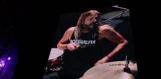 Taylor Hawkins canta inédita do Foo Fighters