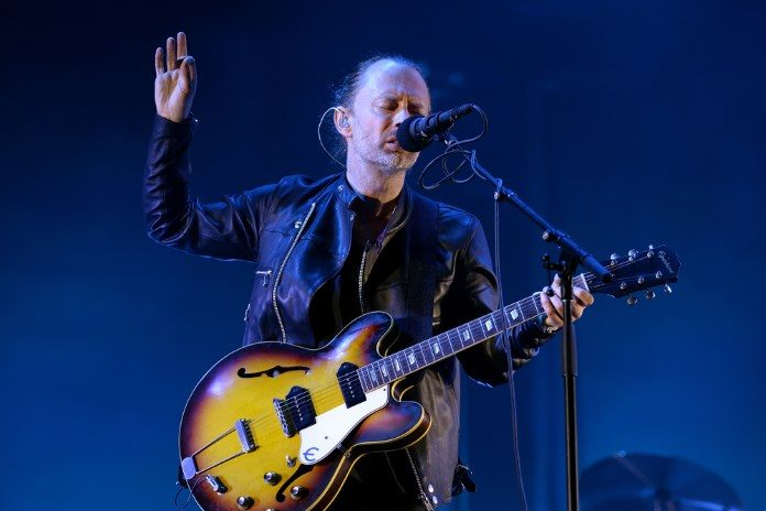 Thom Yorke no Primavera Sound 2016 - Radiohead