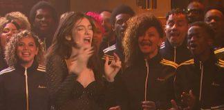 Lorde no programa de Seth Meyers