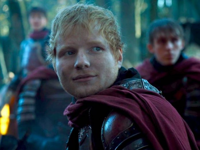 Ed Sheeran em Game of Thrones 2