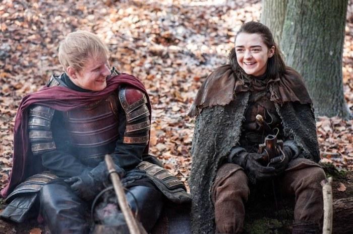 Ed Sheeran em Game of Thrones