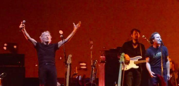 Eddie Vedder e Roger Waters