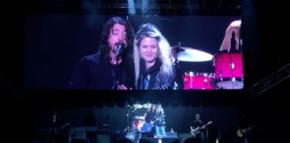 Foo Fighters - Dave Grohl e Alison Mosshart, do The Kills