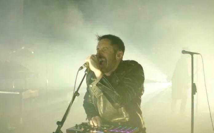 Nine Inch Nails em show de retorno