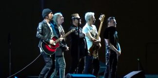 U2 e Patti Smith em Paris - show