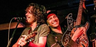 Chris Cornell e Tom Morello (Audioslave)