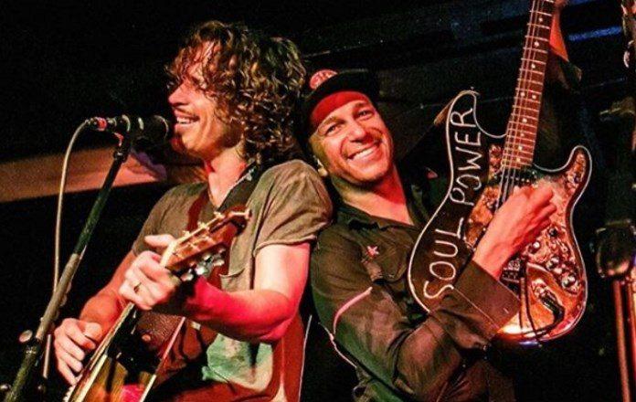 Chris Cornell e Tom Morello (Audioslave)