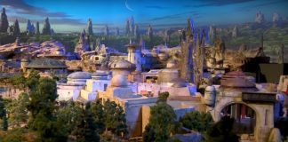 Star Wars: parque temático da Disney