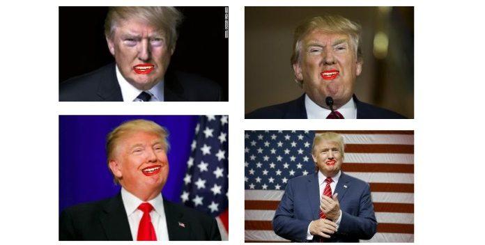 Donald Trump cantando em clipe da ALDO, the band