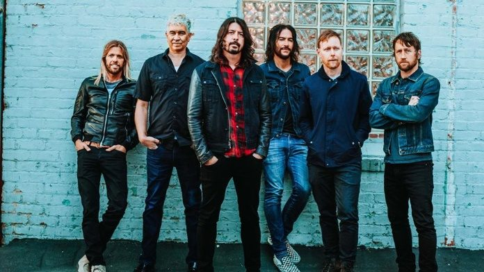 Foo Fighters em 2017