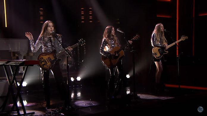 HAIM The Tonight Show