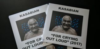"""For Crying Out Loud"", do Kasabian, em vinil"