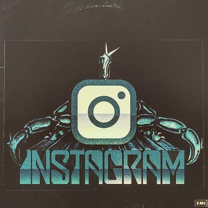 logo metal - instagram