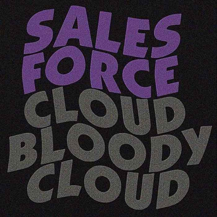 logo metal - sales force