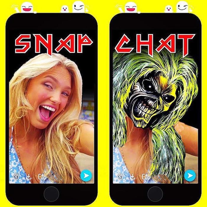 logo metal - snapchat