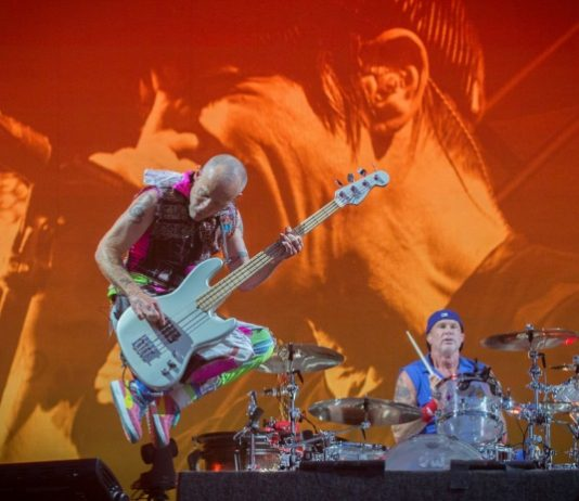 Red Hot Chili Peppers no Bottlerock 2016