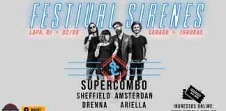 Festival Sirenes com Supercombo