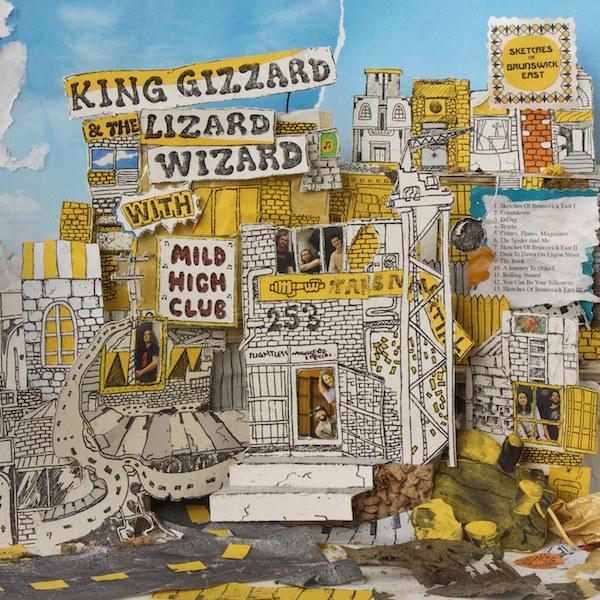 King Gizzard & The Lizard Wizard com Mild High Club - Sketches of Brunswick East