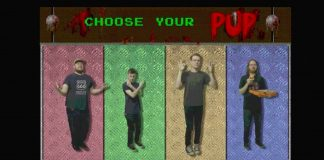 "PUP - video interativo videogame de ""Old Wounds"""
