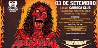 Airbourne em São Paulo