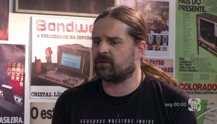 Andreas Kisser no programa Eletrogordo