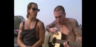 Anthony Kiedis e John Frusciante em 1991