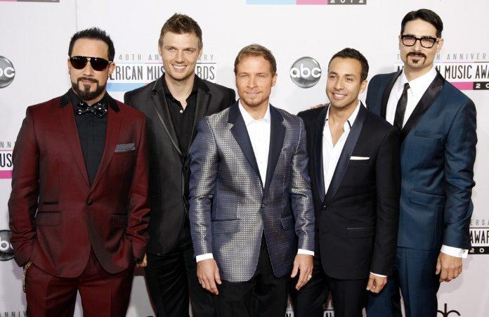 Backstreet Boys em 2012