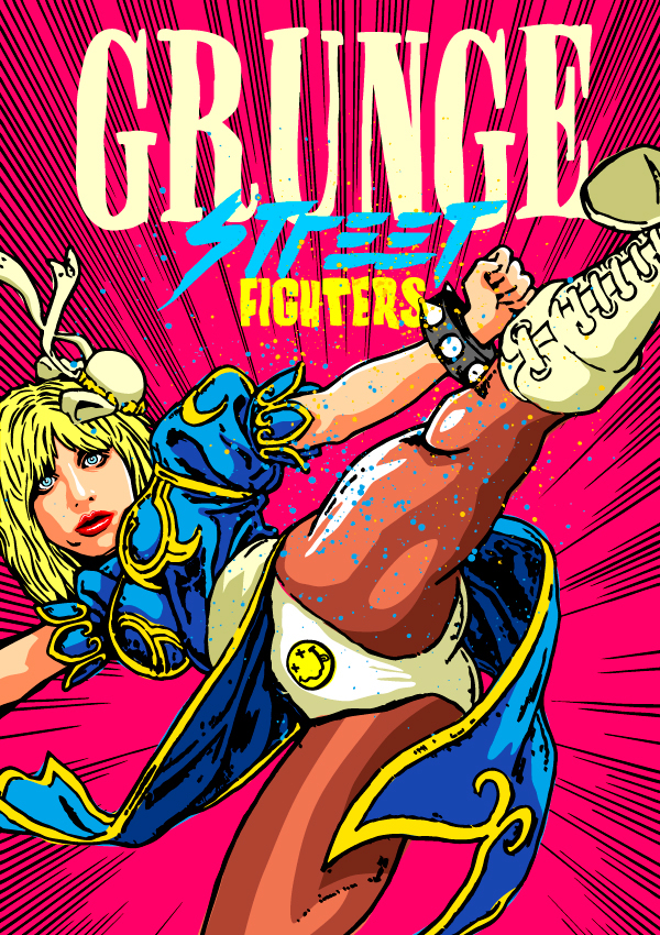 Courtney Love como Chun-Li (Street Fighter)