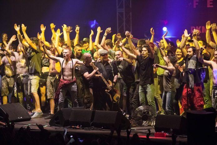 Dropkick Murphys na Croácia em 2014