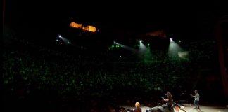 Foo Fighters na Acrópole de Atenas