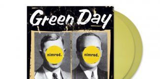 """Nimrod"", do Green Day, em vinil amarelo"