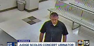 homem é preso por urinar em família em show do metallica