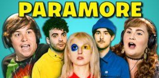 Adults react com o Paramore
