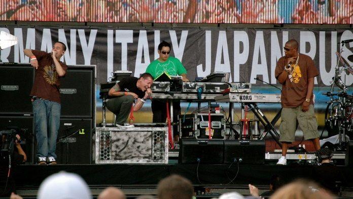 Linkin Park com o Jay-Z