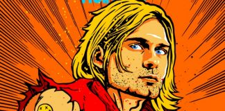 Kurt Cobain como Ken, de Street Fighter