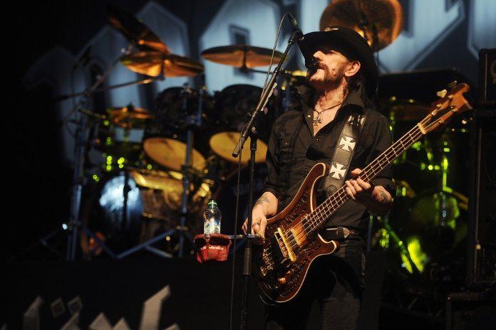 Lemmy Kilmister em 2015