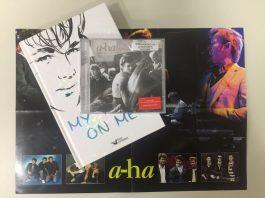 Livro de Morten Harket e CD do A-ha