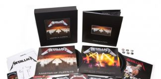 Caixa deluxe de Master Of Puppets, do Metallica