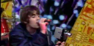 Oasis no seu primeiro programa de televisão
