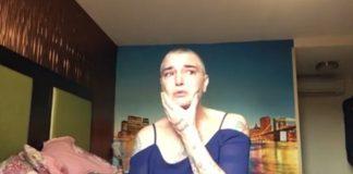 Sinéad O'Connor em vídeo sobre depressão
