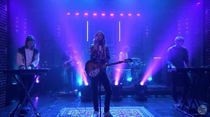 Tame Impala no Jimmy Fallon