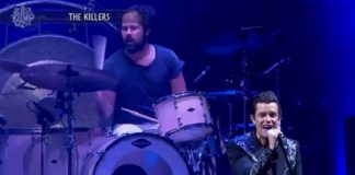 The Killers no Lollapalooza Chicago 2017